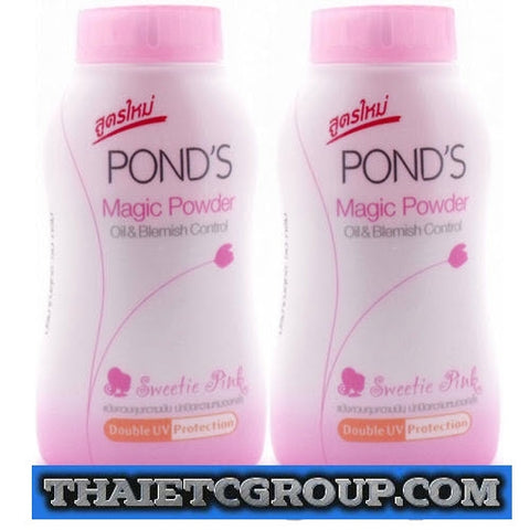 2 x 50 g POND'S magic powder oil blemish control UV protection pink