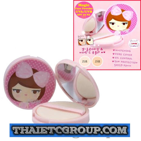Karmart Cathy Doll Korea Magic L-Glutathione Face Compact Powder AURA WHITE #21
