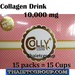 COLLY PINK PLUS Collagen Dietary Drink Strawberry Collagen peptide 10000mg