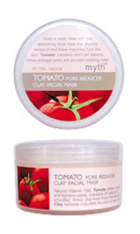 MYTH TOMATO PORE REDUCER REFINING DETOXIFYING SOOTHING FACIAL CLAY MASK
