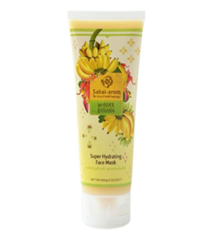 SABAI AROM WONDER BANANA SUPER HYDRATING BRIGHTENING & SKIN SOFTENING FACE MASK