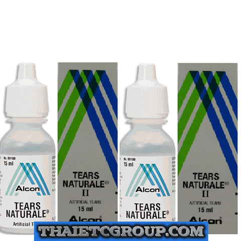 2 Artificial Tear Tears Naturale Alcon Eye Drops Droplets Relief of eye Dryness