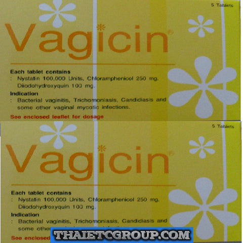 VAGICIN thrush yeast infection candida treatment vaginal tablets Antifungal x10