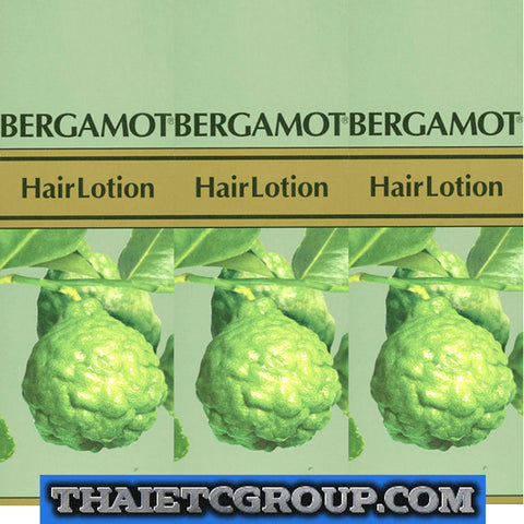 3 Bergamot Hair Loss Treatment Lotion Dandruff Itchy Dry Scalp Prevent hair loss