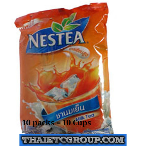 10 STICKS NESTEA NESTLE CHA YEN THAI MILK ICE TEA INSTANT 3 IN 1 OLD ORIENTAL