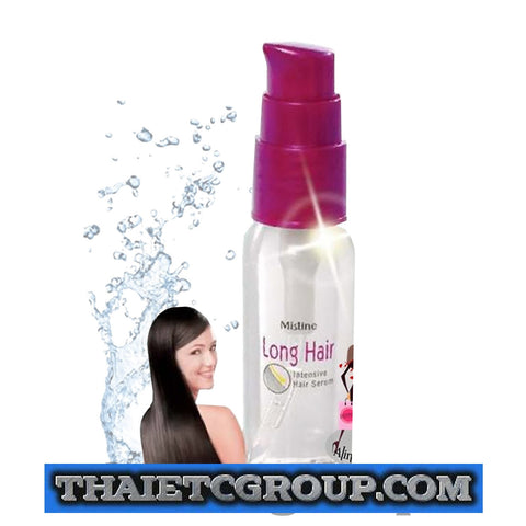 MISTINE LONG HAIR INTENSIVE FASTER GROWTH READILY ABSORB SERUM COLLAGEN KERATIN