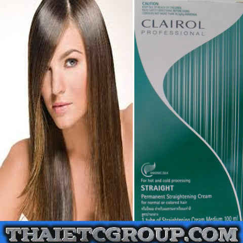 CLAIROL PROFESSIONAL Permanent Straightening for NORMAL COLORED HAIR - MEDIUM
