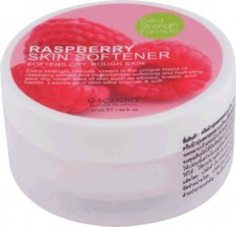 BEAUTY BUFFET SCENTIO RASPBERRY SKIN SOFTENER BODY ELBOWS KNEES HANDS 42 ML