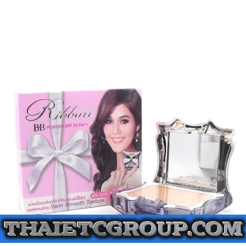 Mistine Ribbon BB Face Powder SPF 25 PA++ Satin Smooth Texture