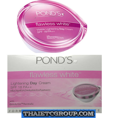 Pond's Flawless White Skin Whitening Day Cream lightening light SPF 18 PA++ 50 g