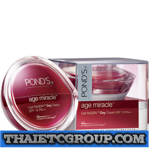 POND'S PONDS ANTI AGE MIRACLE DAILY SKIN RESURFACING DAY CREAM SPF15PA++ 50g