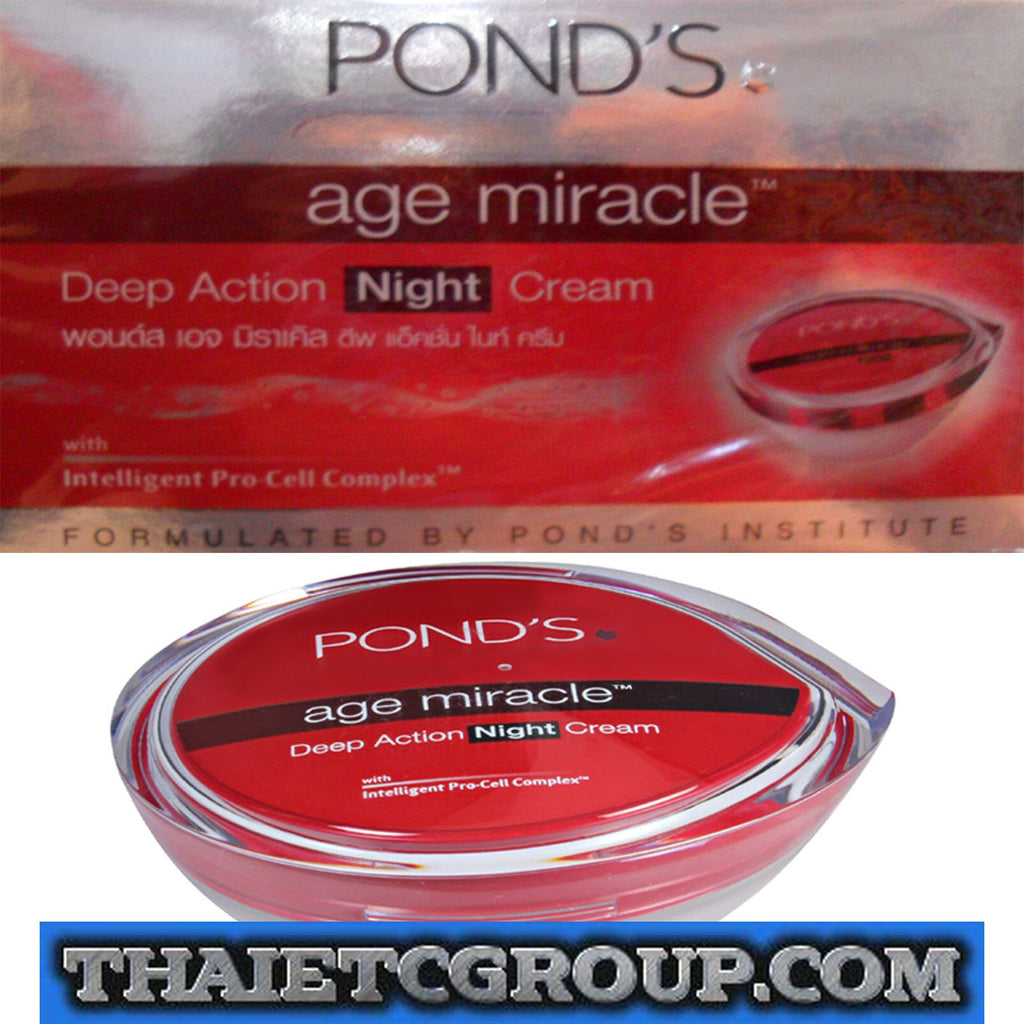 Ponds Anti Aging Night Cream Ceo News Londs Age Miracle 10g Daily Deep Action Pro Cell Complex 50g