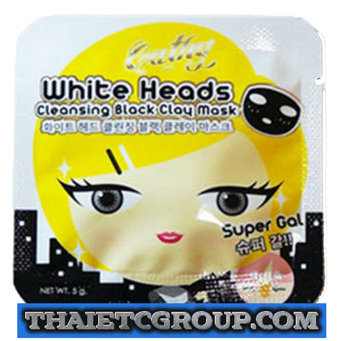 Karmart Cathy Doll Remove White Head remover Cleansing Black Clay Mask