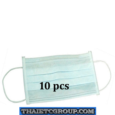 10 pcs 3-ply Disposable Surgical Ear Loop Face Anti Dust Mouth Cover Masks