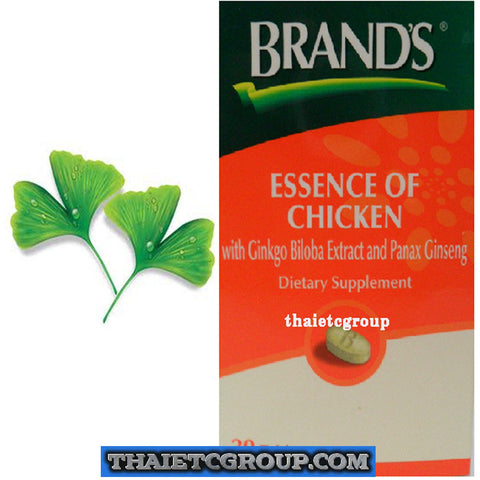 Brand's Chicken Essence Gingko Biloba Ginseng Dietary supplement Improve memory