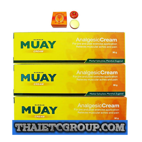 Namman Muay Thai Boxing Analgesic Balm Massage Cream creme golden Pain Relief
