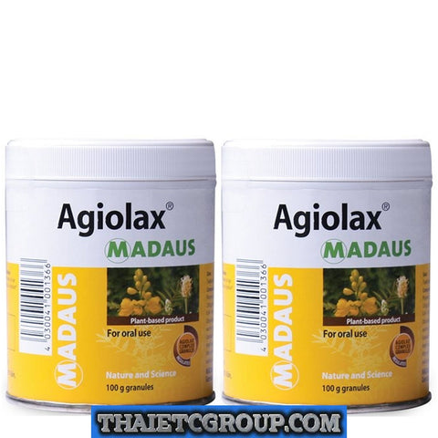 2 MADAUS AGIOLAX Plant natural granulat laxative relief constipation GERMANY