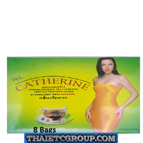 8 teabags CATHERINE SLIMMING HERBAL WEIGHT LOSS DETOX