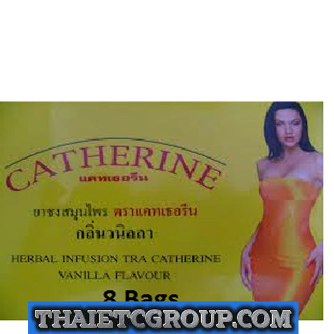 8 tea bags Vanilla flavour CATHERINE SLIMMING HERBAL Infusion WEIGHT LOSS DETOX