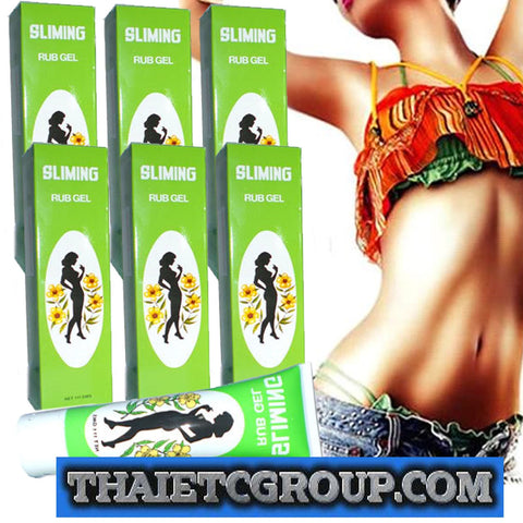 6 ANTI-CELLULITE Slimming Sliming Rub Firming Gel lose weight Fat Burner Burning