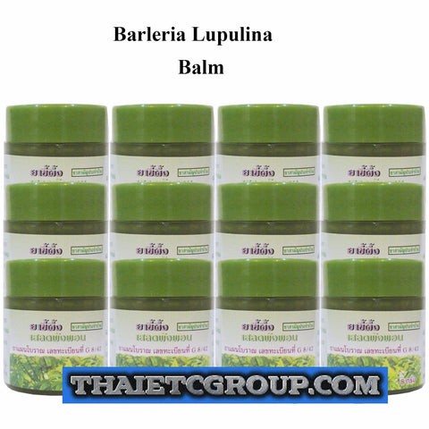 12 Pathom Asoke HERBAL GREEN BALM BARLERIA LUPULINA VASELINE MASSAGE PAIN RELIEF