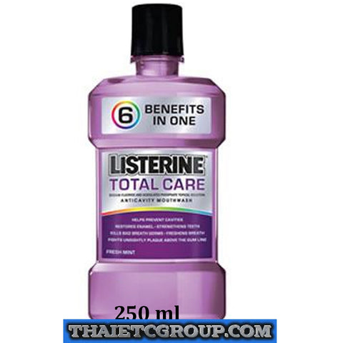 NEW LISTERINE Antiseptic Mouthwash Total Care 6 in 1 Fresh Breath Mouth 250 ml