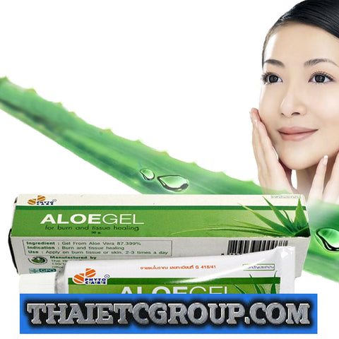 Aloe Vera Gel A Acne Burn Wound Treatment Redness Swelling used with Retin