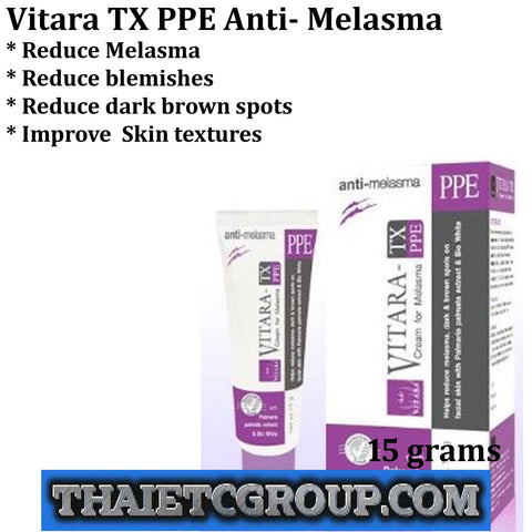 VITARA TX PPE cream for Anti Melasma Dark Spots Blemishes Bio White