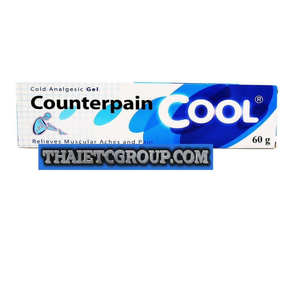 60 Grams Counterpain Cool Gel Analgesic Balm Muscle Pain Relief 120g Relieves Aches