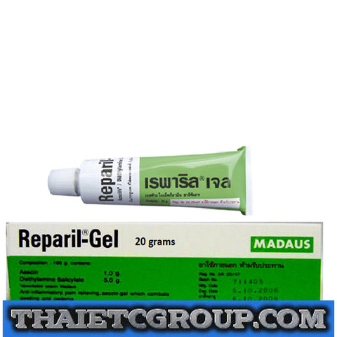 Reparil Gel Anti-inflammatory pain relief Analgesic muscle sprain rheumatism 20g