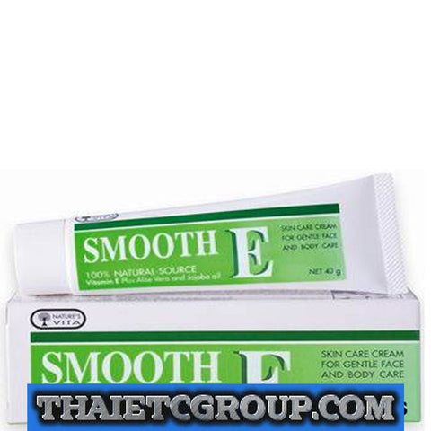 SMOOTH E CREAM VITAMIN E PLUS ALOE VERA REDUCE SCAR 7g