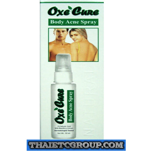 Oxe Cure body back Chest Neck Arm Acne Spray Anti Bacterial Salicylic Acid 50ml