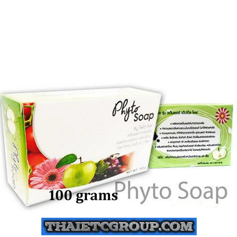 Phyto Stem Cell Soap for whitening Reduce spots Stem cell from Apple Coconut oil