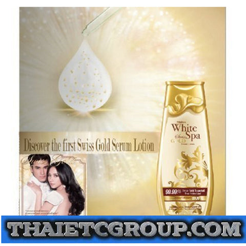 MISTINE WHITE SPA IMPORTED SWISS GOLD SERUM BODY LOTION 100 ml