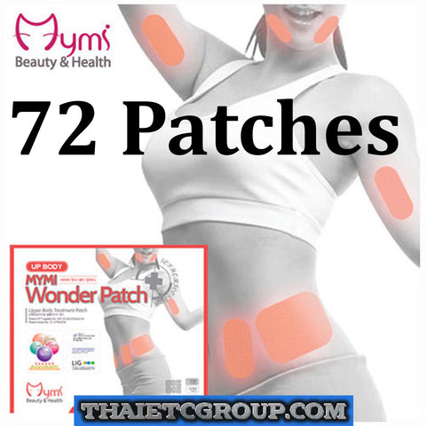 Korea Cosmetics *Mymi* Anti-Obesity Slimming Wonder Upper Body Patch 72 pieces