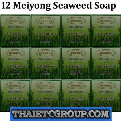 12 MEIYONG Mei Yong SEAWEED SOAP EXTRA WHITENING & FACE LIFT BATH BODY