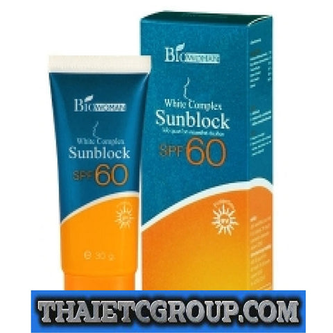 Biowoman White Complex Sunblock SPF 60 Sunscreen Sun Protection UV Anti Aging