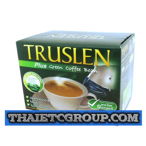 TRUSLEN PLUS Instant Slimming Green Coffee Bean Extract weight management drink