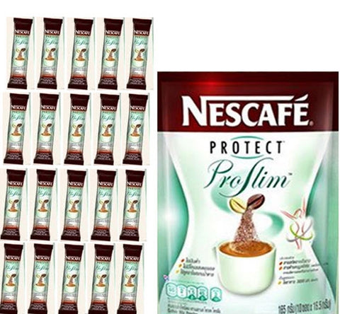 20 NESCAFE Protect Proslim Diet Slimming weight loss instant 3 in 1 coffee stick