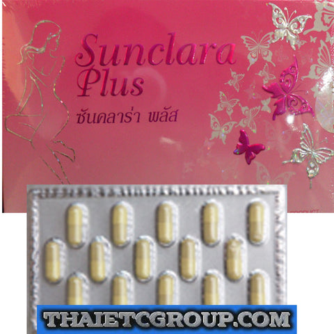 SUN CLARA PLUS GLUTATHIONE FISH COLLAGEN DIETARY SUPPLEMENT HALAL APPROVED