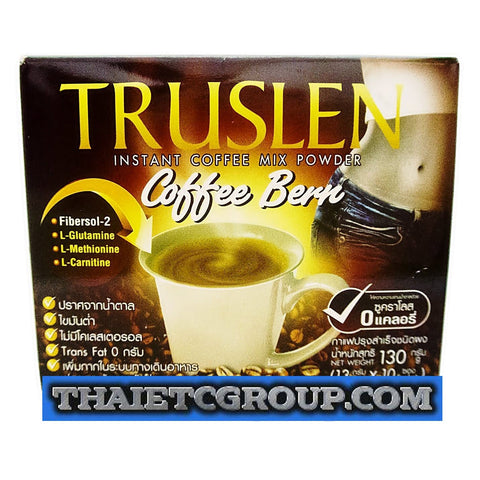 TRUSLEN Bern Instant Slimming Coffee weight management drink Burn No Calories