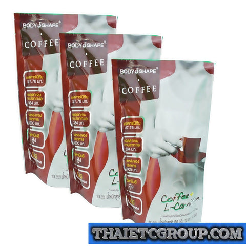 3 BODY SHAPE INSTANT COFFEE DIET WEIGHT LOSS NO CALORIE