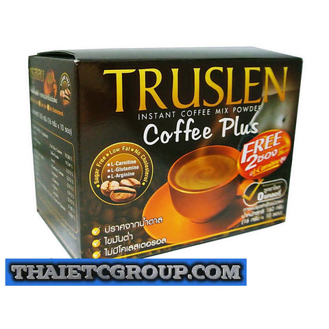 TRUSLEN PLUS Instant Slimming Coffee weight management drink Diet Weight loss