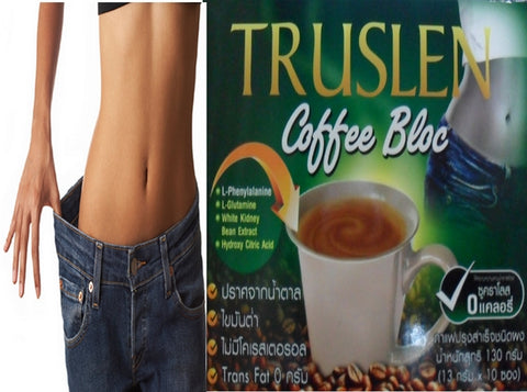 TRUSLEN Bloc Slimming Coffee weight management Sucralose no calories drink