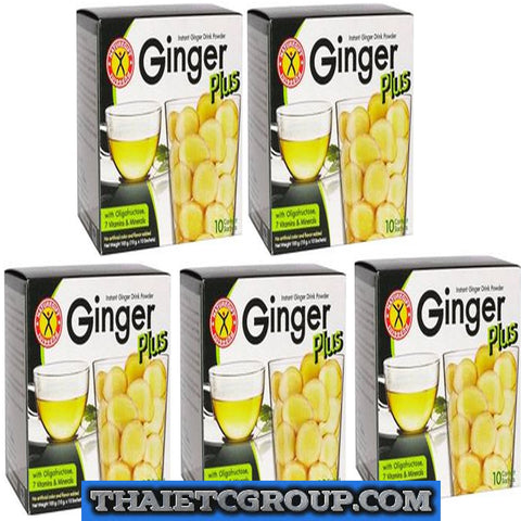 5 NATUREGIFT GINGER PLUS Control Appetite No Cholesterol Boost Metabolism energy