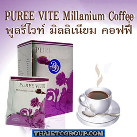 PUREE VITE Millanium Coffee SLIMMING DIET INSTANT COFFEE Lose weight Burn Fat