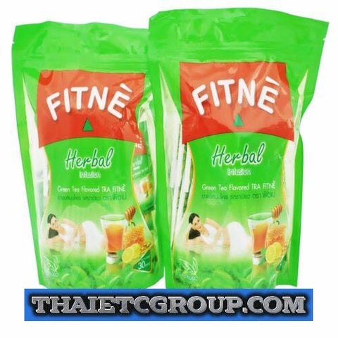 60 teabags FITNE Green Slimming Weight Loss Natural Herb detox Fast Slim Fitness