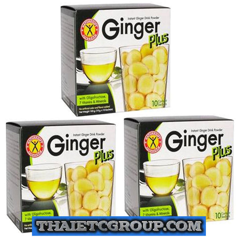 3 NATUREGIFT GINGER PLUS Control Appetite No Cholesterol Boost Metabolism energy