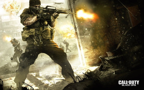 2010 COD Black OPs Game Silk Wall Art Poster Print - 13x20 inch (33x50cm)