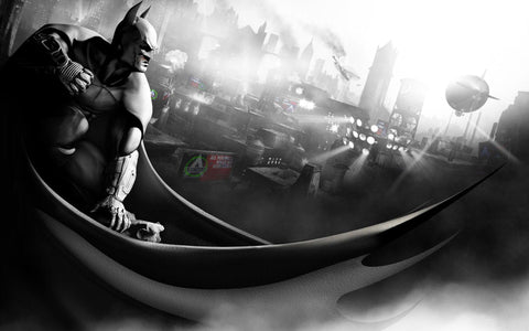 2011 Batman Arkham City Game Silk Wall Art Poster Print - 13x20 inch (33x50cm)